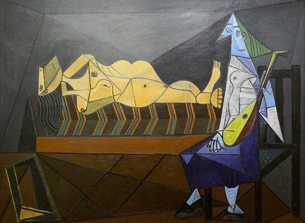 "L'aubade"", Pablo Picasso, 1942. Centre Pompidou, Paris. | Flickr"